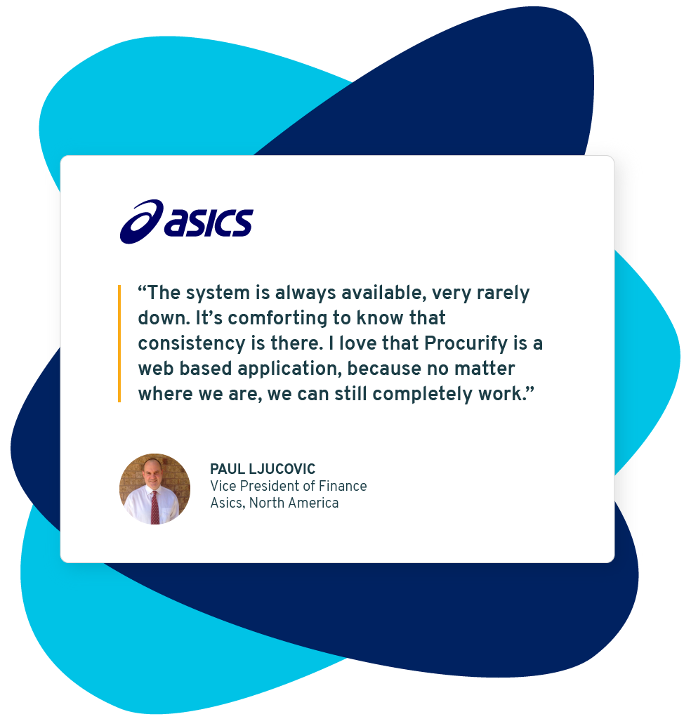 Image displaying quote from Asics North America