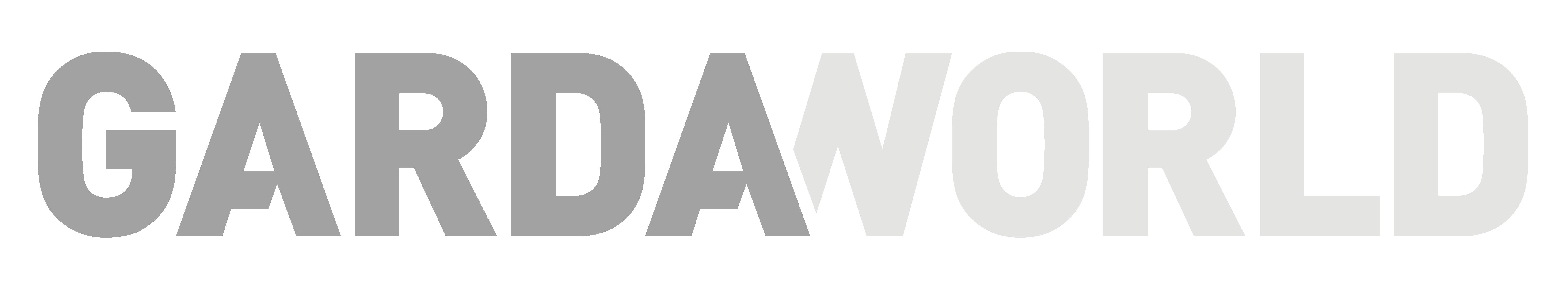 Gardaworld logo in grey