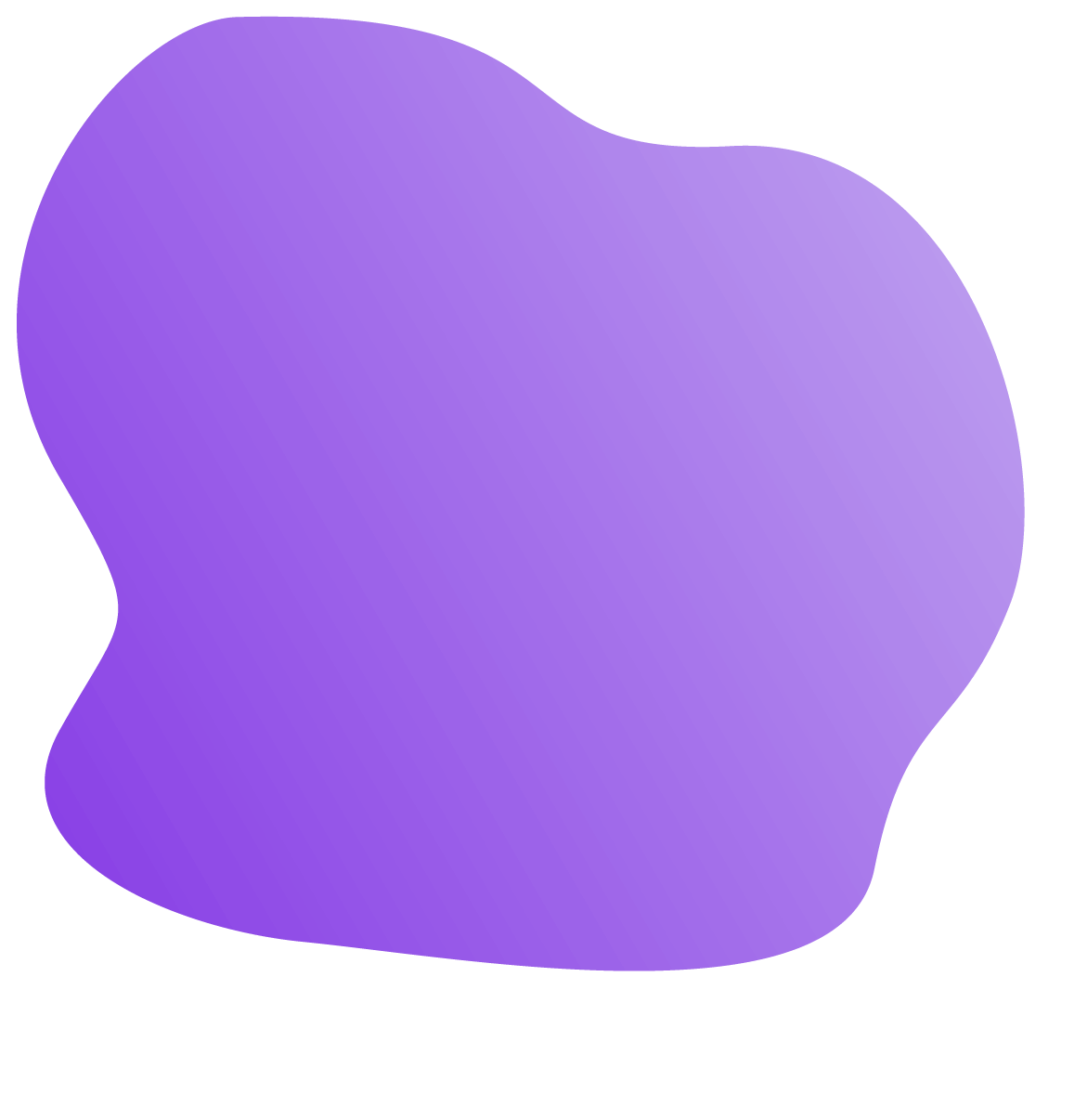 A purple blob image used in backgrounds