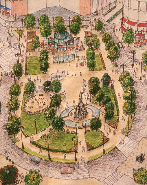 Campus Martius Park