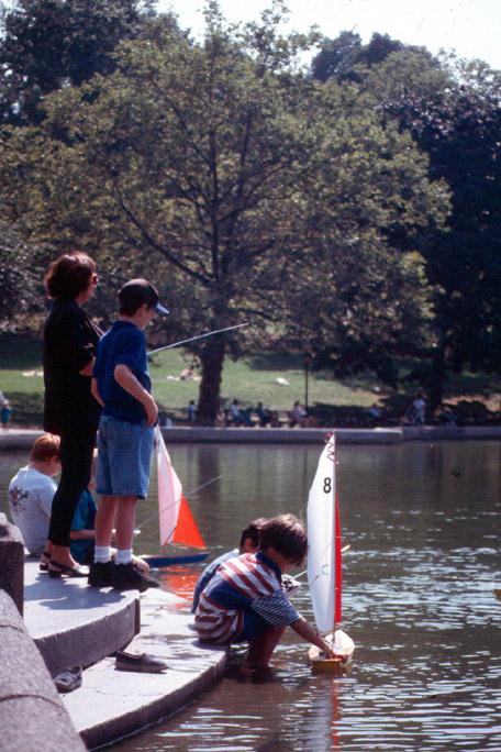 Central Park Sailboat Pond