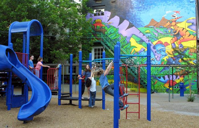 Travis Elementary School Dinosaur Park | Parks