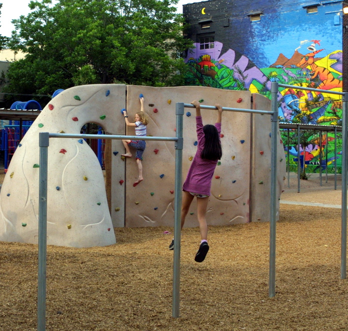 Travis Elementary School Dinosaur Park