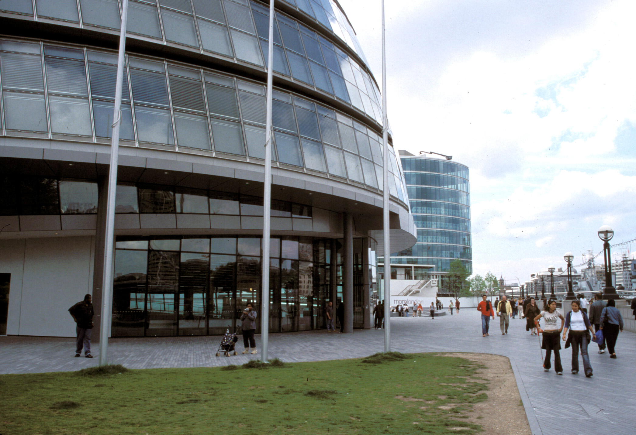 GLA Building (City Hall) and Plaza