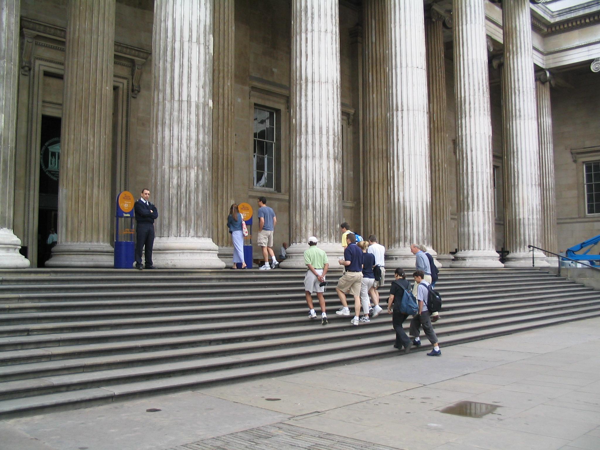 British Museum Entranceway
