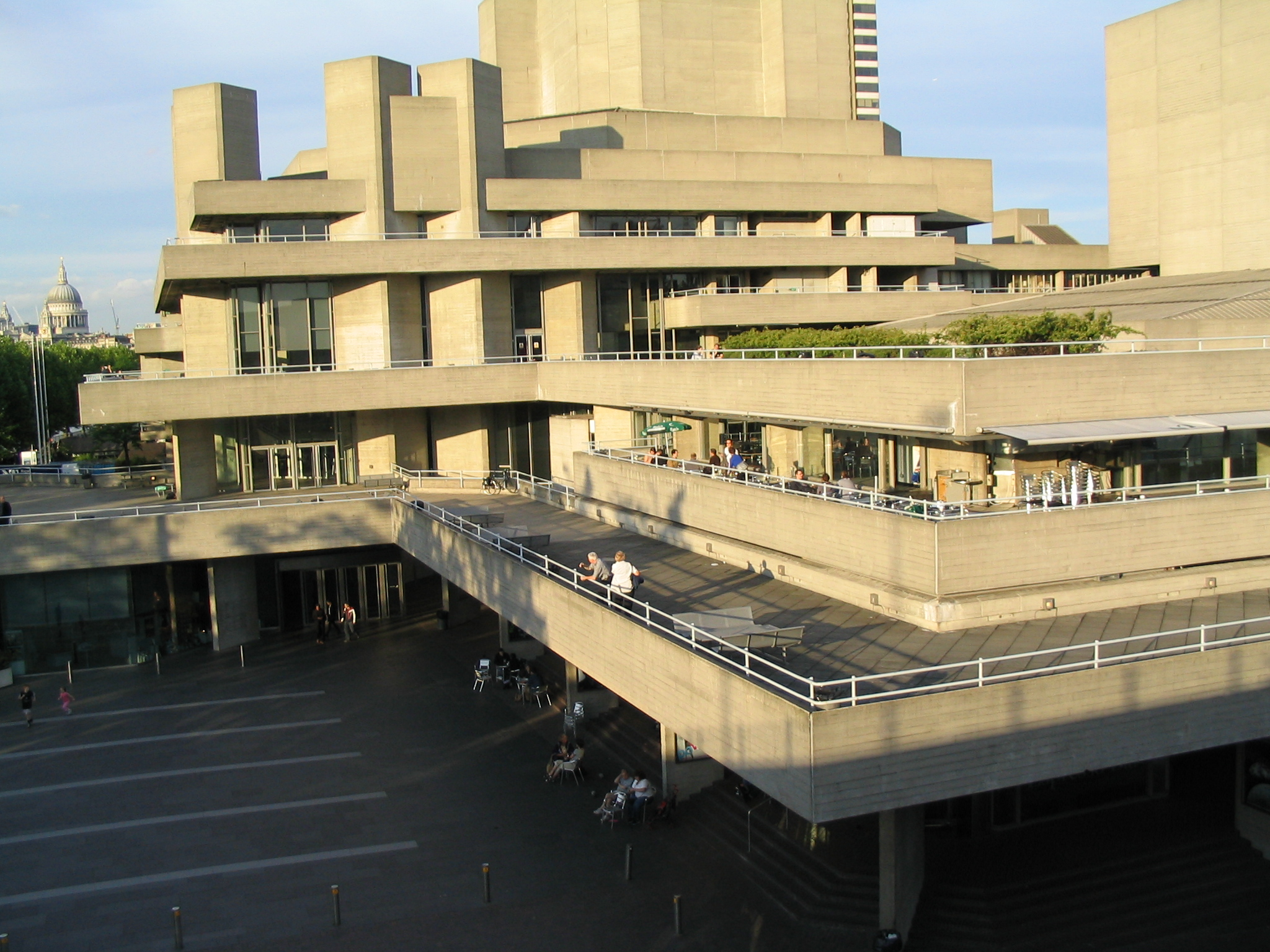 The South Bank Centre: National Theatre, Royal Festival Hall, and Queen Elizabeth Hall