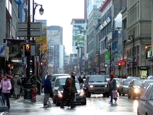 Sainte-Catherine Street