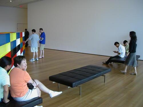 Museum of Modern Art Interior and Sculpture Garden