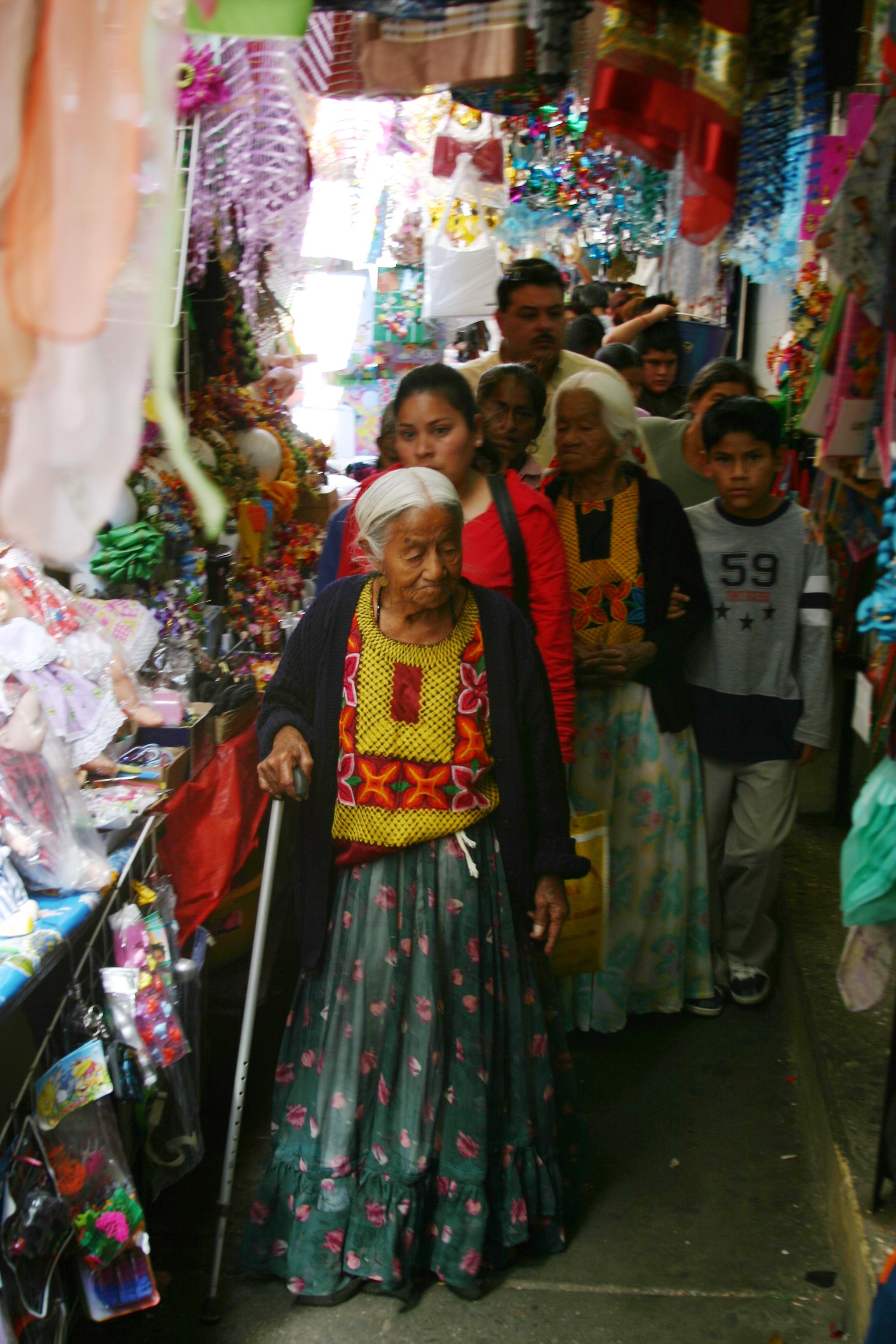Jardin Juarez and Market Hall