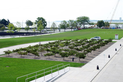 Quadracci Pavilion and Cudahy Gardens, Milwaukee Art Museum