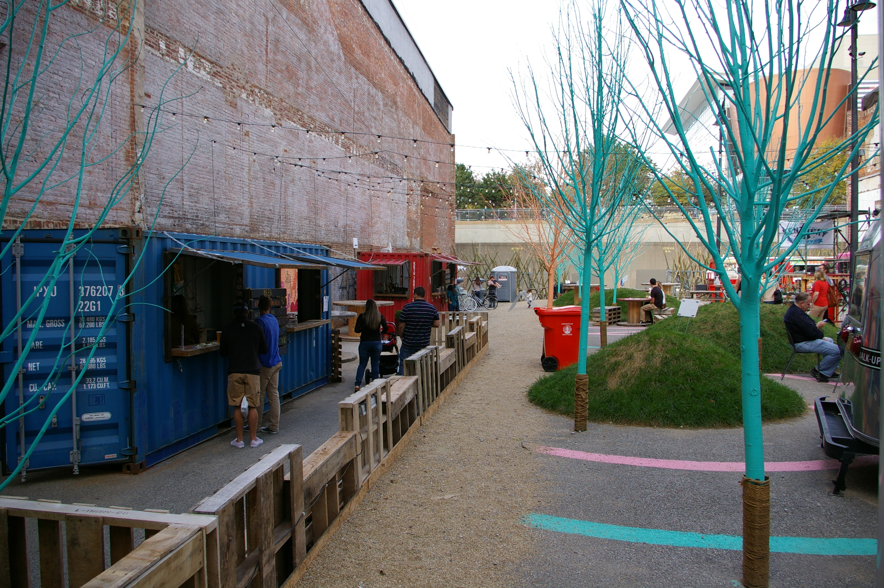 ReSurfaced Pop-up Beer Garden