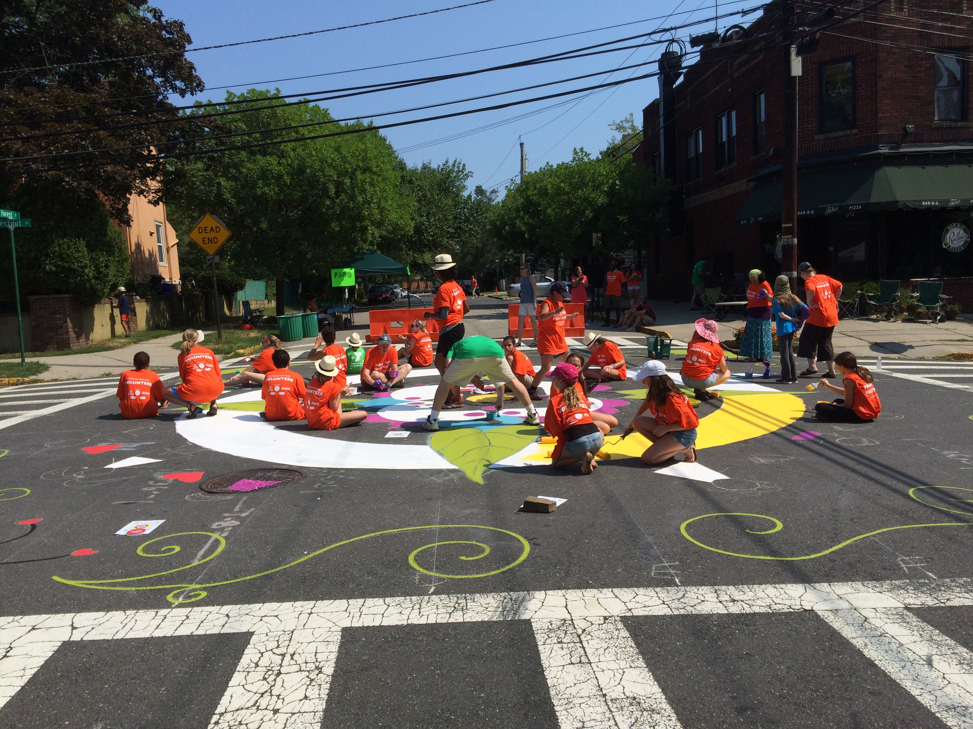 Montclair Community Street Quilt