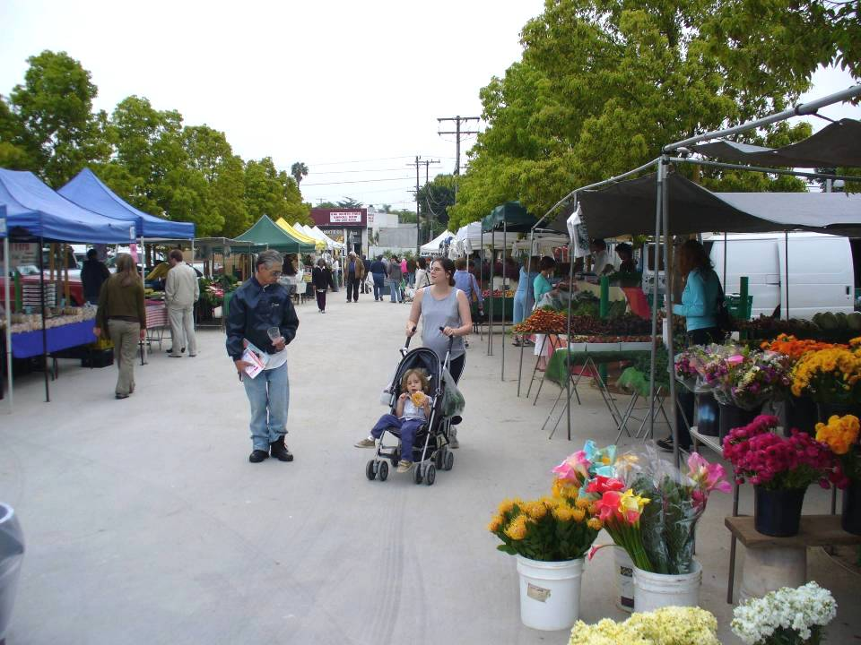 Virginia Avenue Park and Pico Farmers Market
