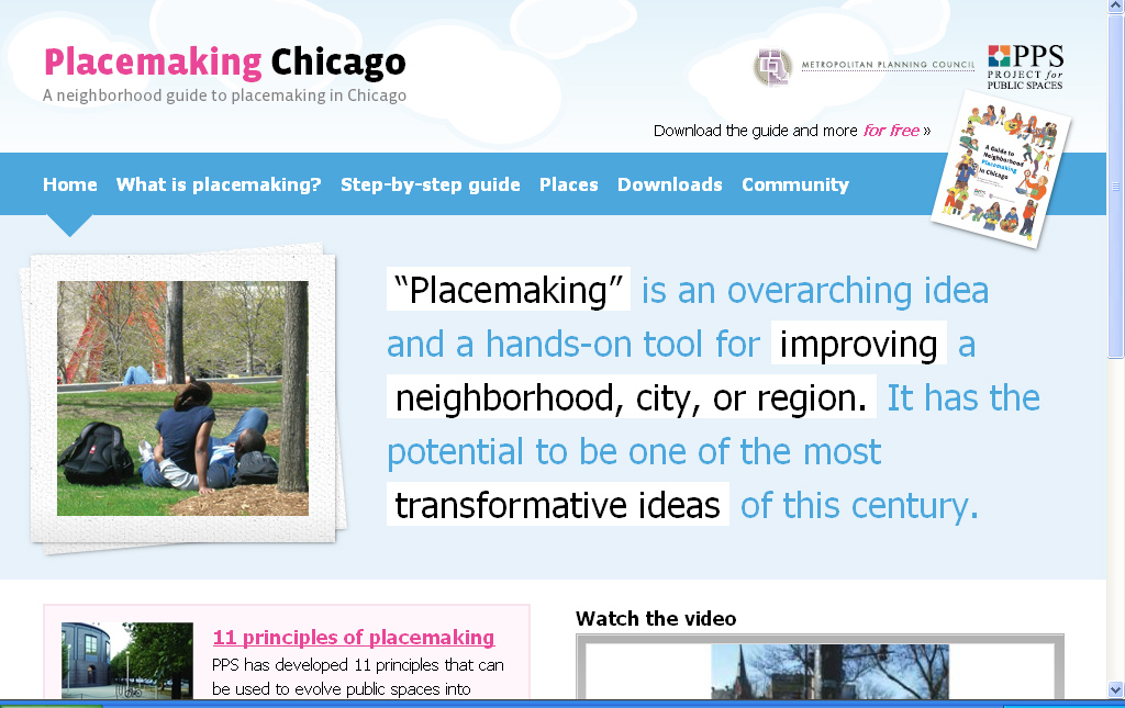 Placemaking Chicago