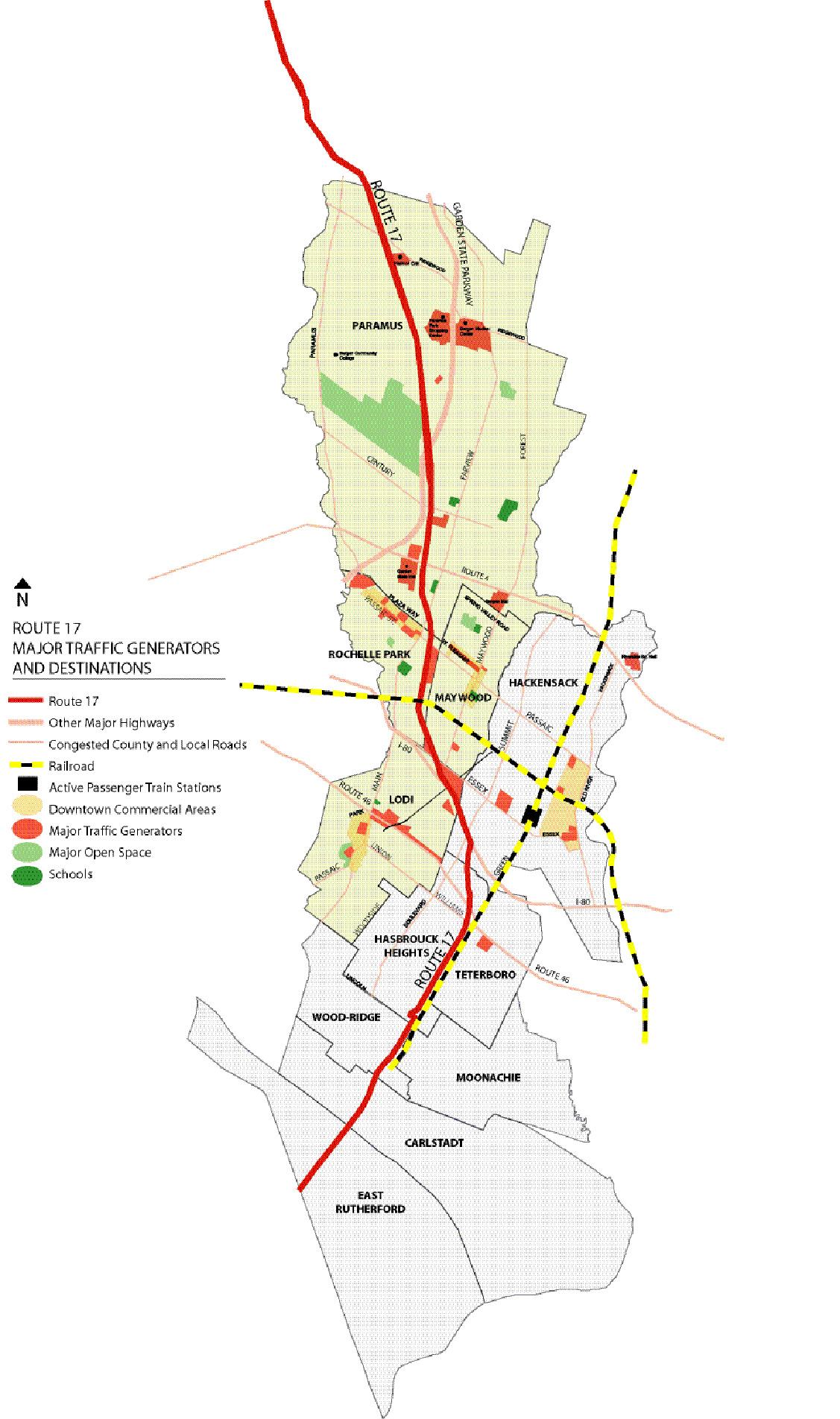Route 17 Corridor