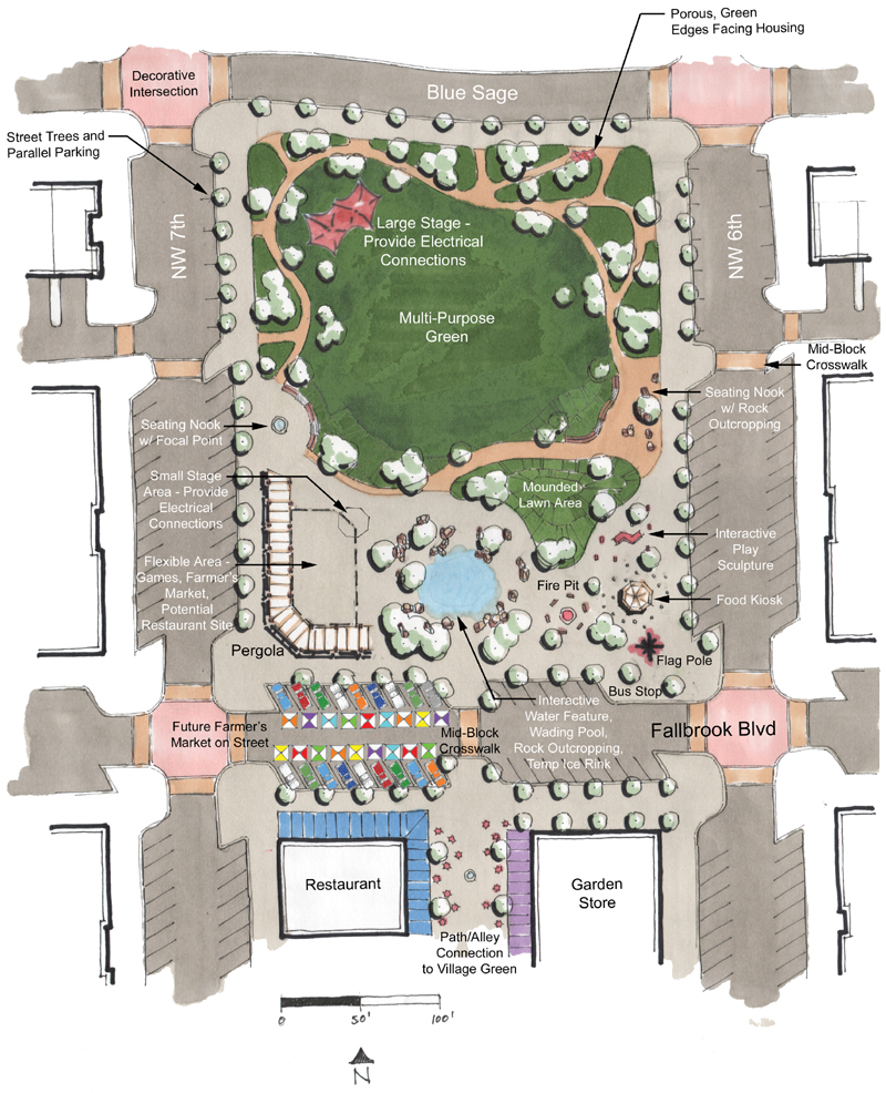 Fallbrook Village Master Plan