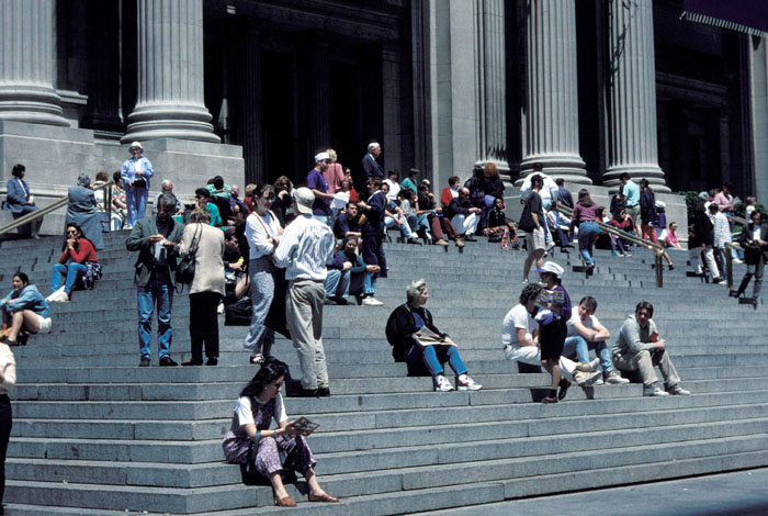 Metropolitan Museum Steps
