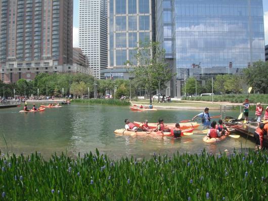 Discovery Green: Houston's Backyard