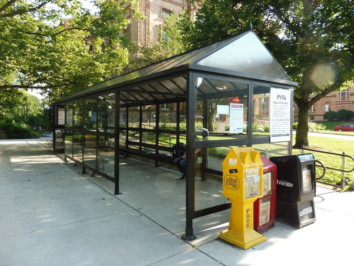 Academy of Music Bus Stop