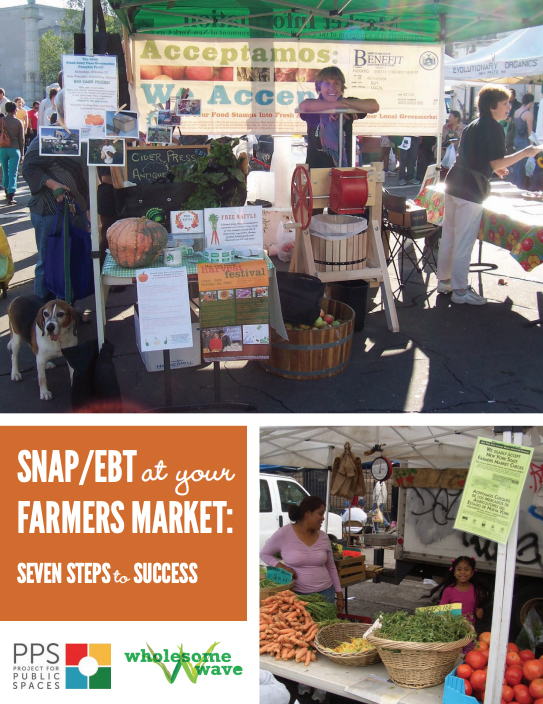 SNAP/EBT at Your Farmers Market: Seven Steps to Success