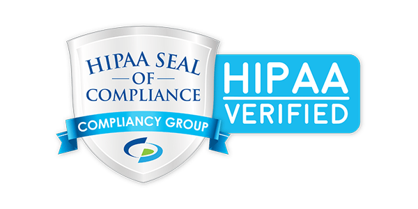 illustration of HIPAA seal of compliance