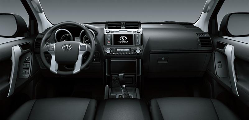 Xe 7 chỗ Toyota Prado nội thất