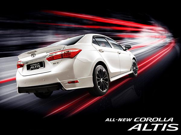 dòng xe Toyota - xe corolla altis