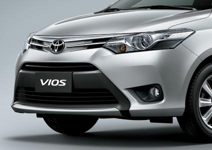 Phần đầu xe Toyota vios 2017