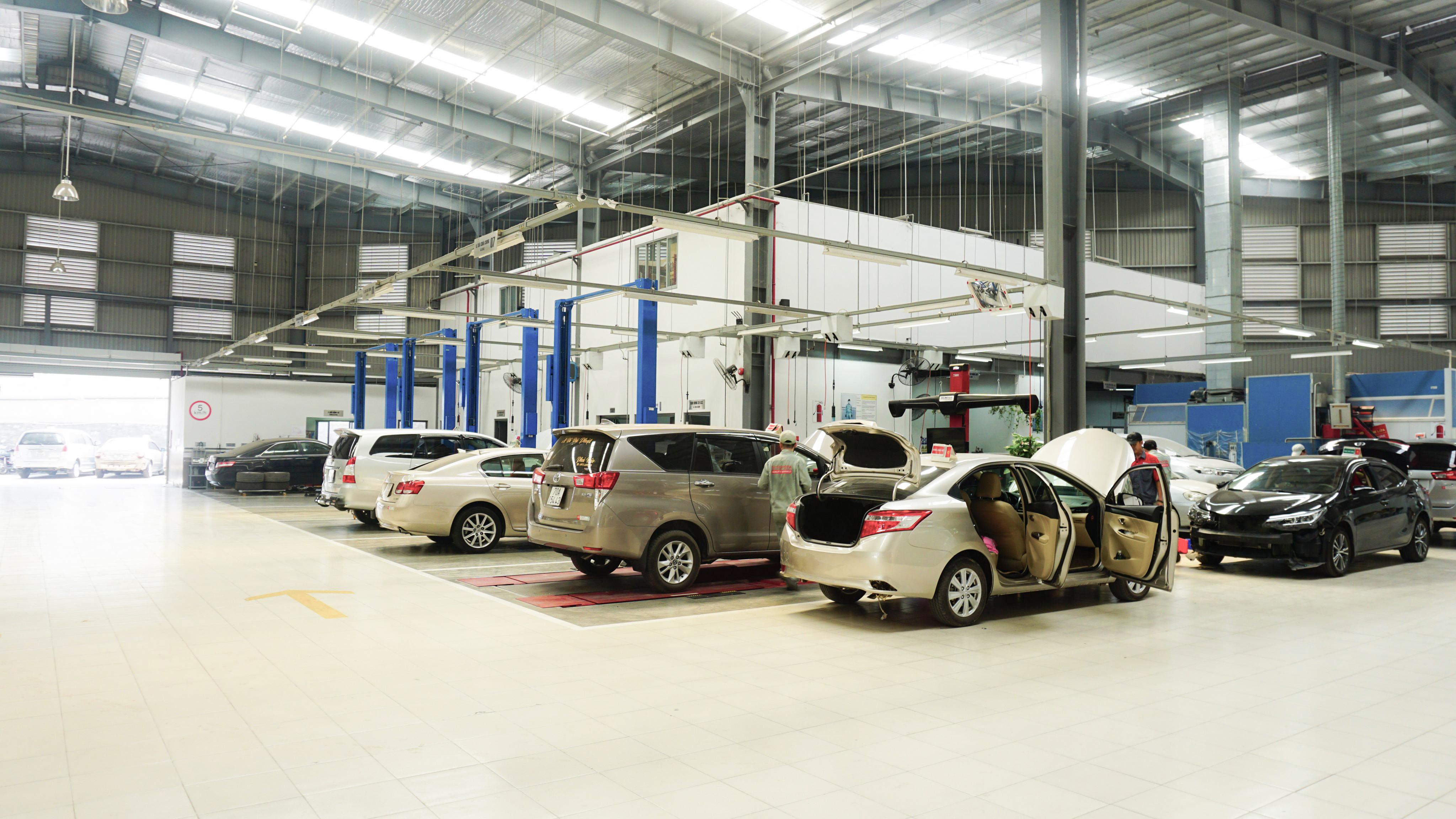 Bảo dưỡng xe Toyota