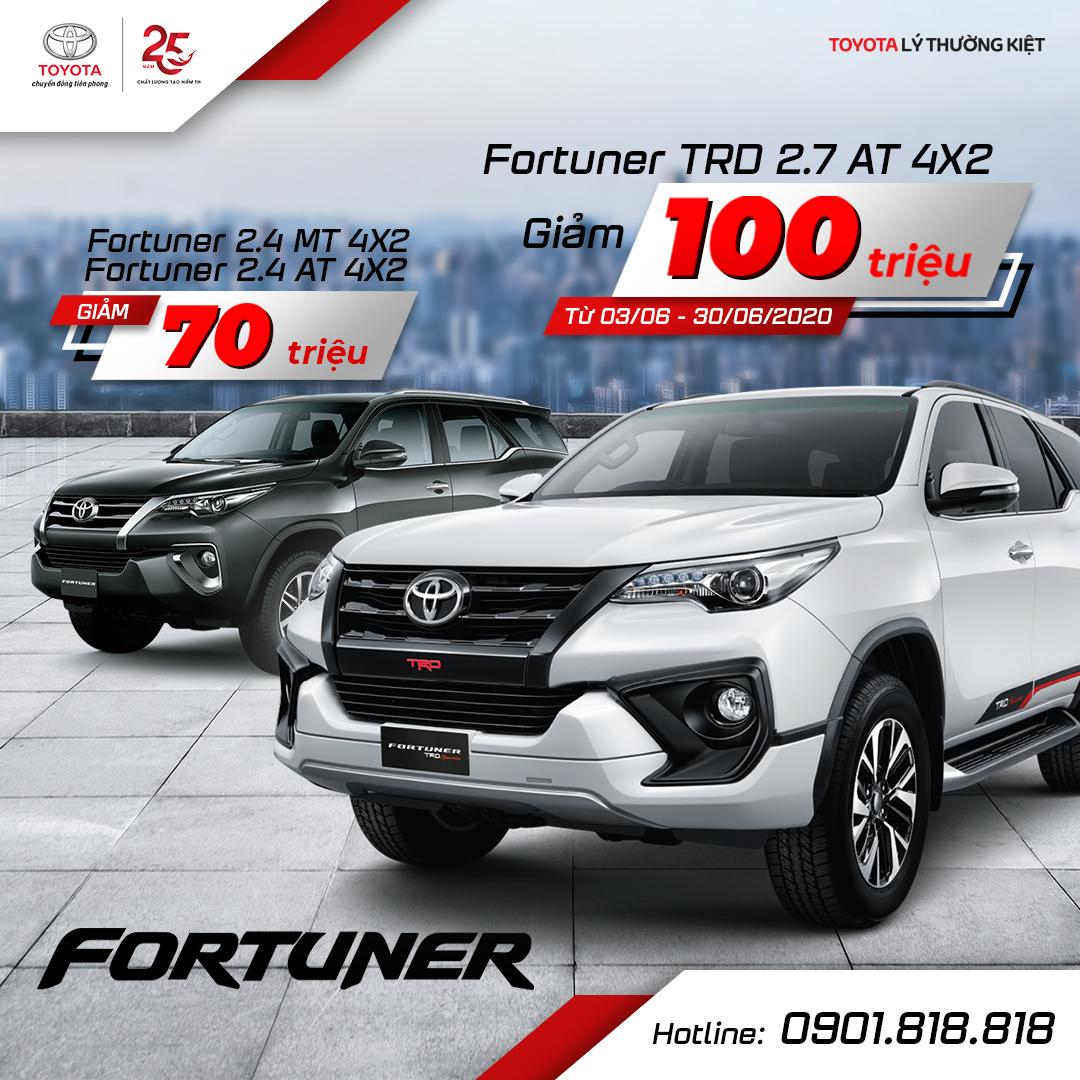 Bảng giá xe Toyota 2020