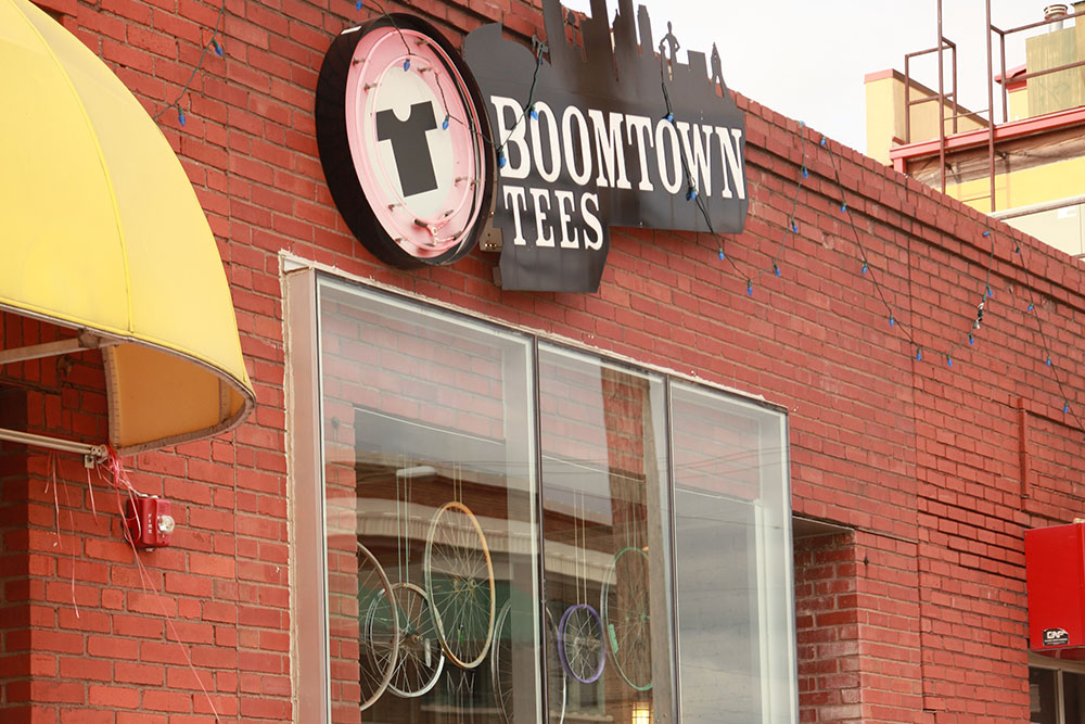 Boomtown Tees Storefront