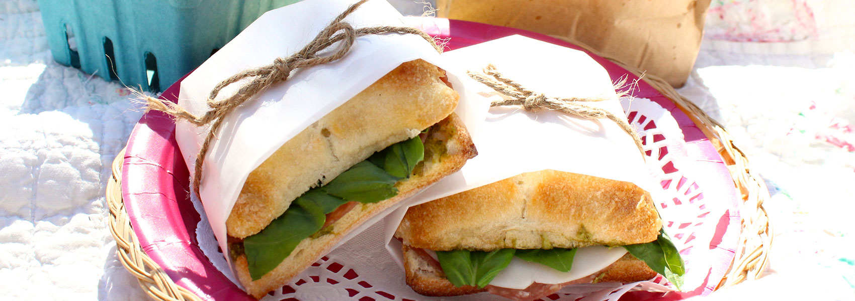 Gourmet Picnic Sandwich