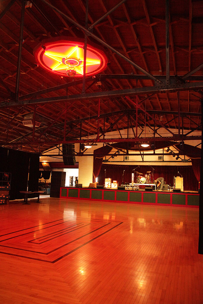 Cain's Ballroom hosts country, EDM, rap, and rock acts, alike — often all in the same week. (Photo: Marc Rains)