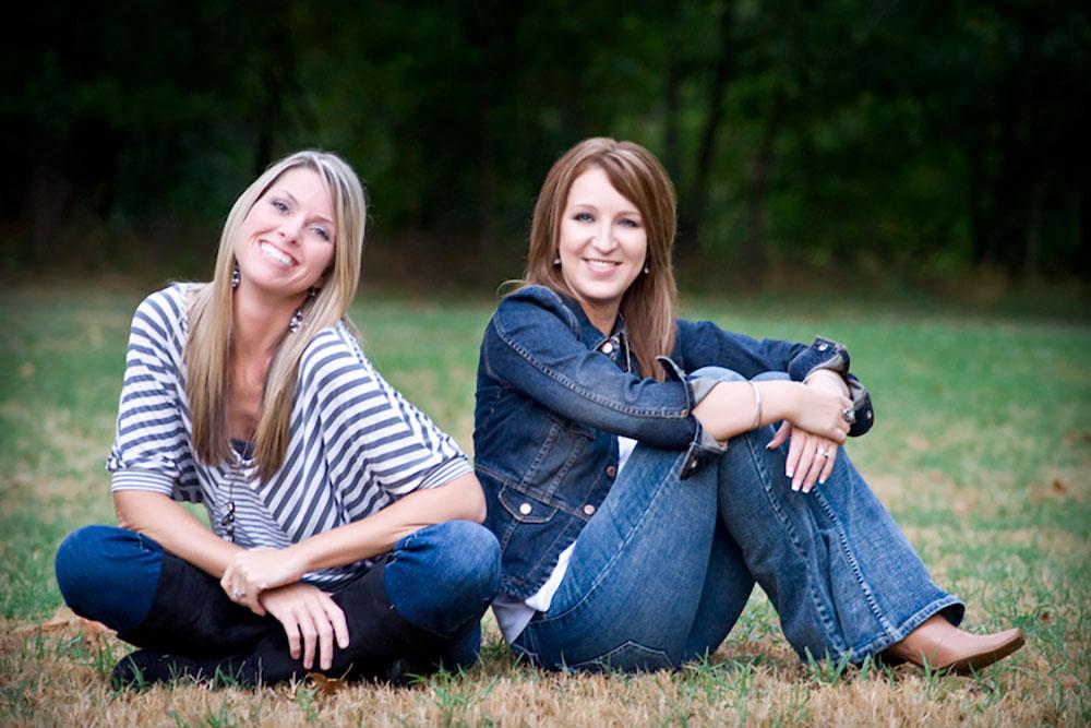 Kelli Greer and Lacie Hudgins