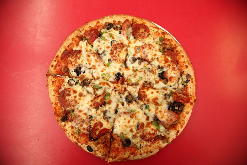 Everything Pizza (Photo: Marc Rains)