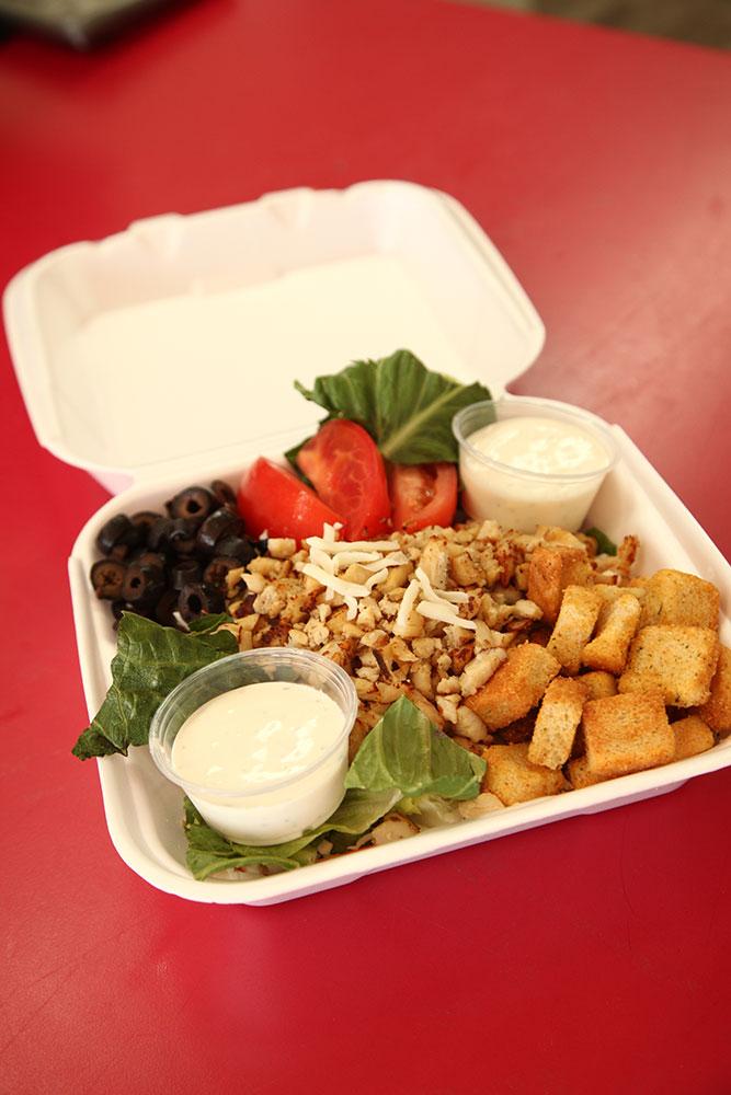 Grilled Chicken Salad (Photo: Marc Rains)