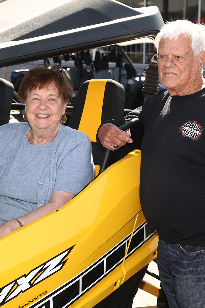 K&N Motor's Lucy and Norm McDonald. (Photo: Marc Rains)