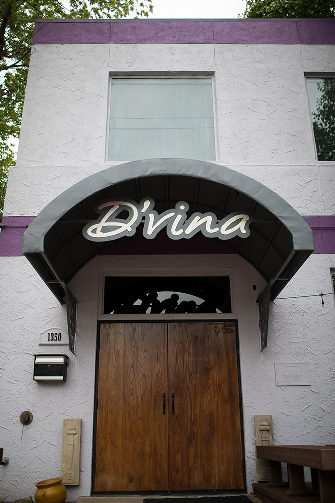 D'vina serves lunch and dinner six days a week, as well as brunch on Saturdays and Sundays. (Photo: Valerie Grant)