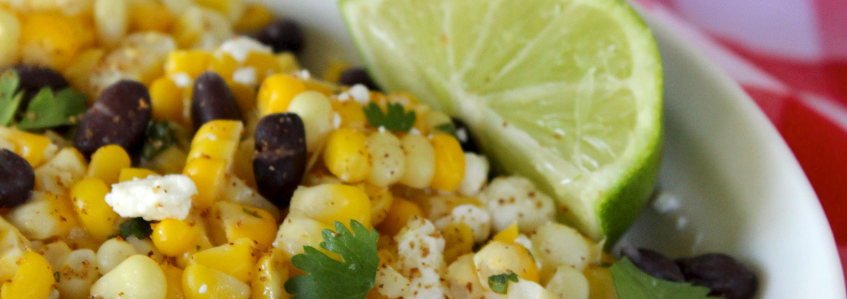 Sweet Summer Corn Salad with Lime