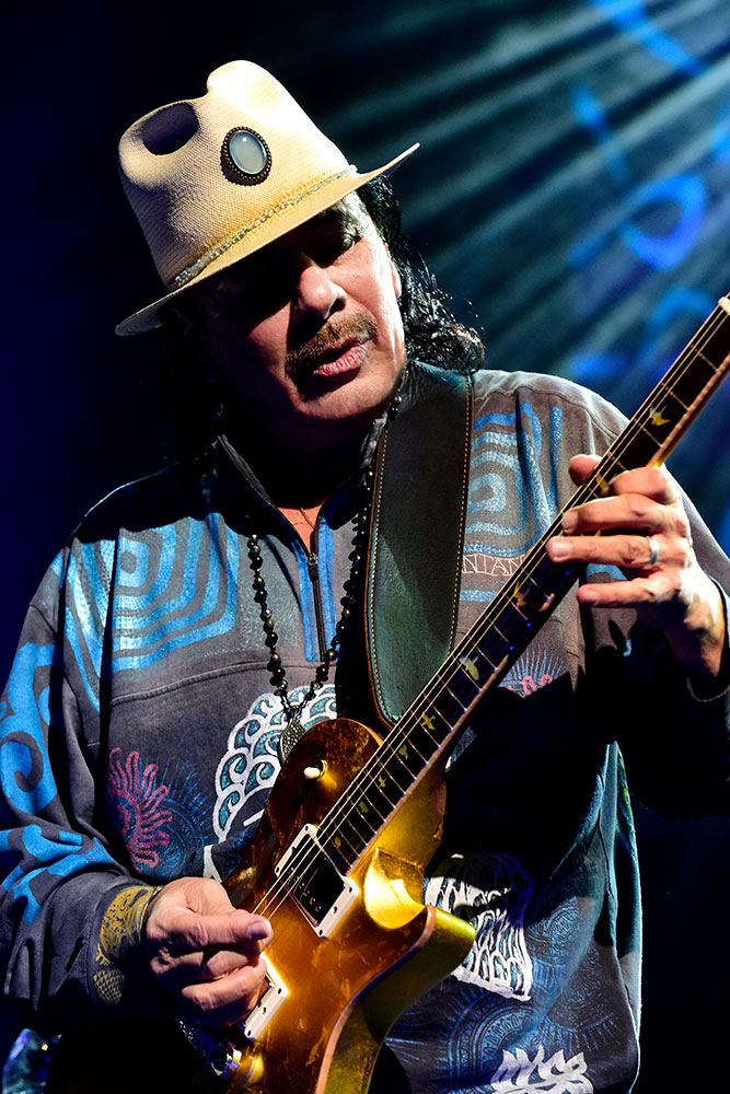 Santana will play River Spirit Casino on July 6.