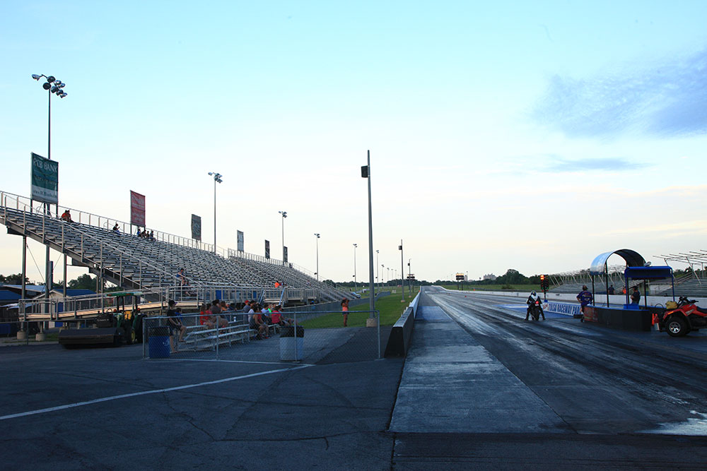 The Tulsa Raceway Park is one of only 14 race tracks in America that have existed for more than 50 years. (Photo: Marc Rains)