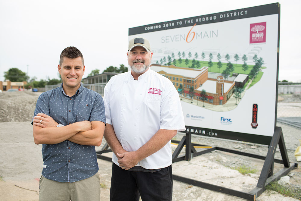 Tommy Coulter and Erik Reynolds realized there was potential for growth in their hometown of Owasso. (Photo: Valerie Grant)