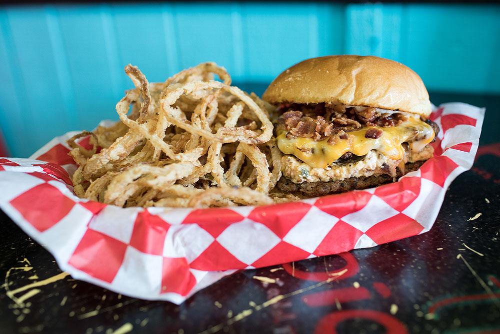 Bomb Burger (Photo: Valerie Grant)