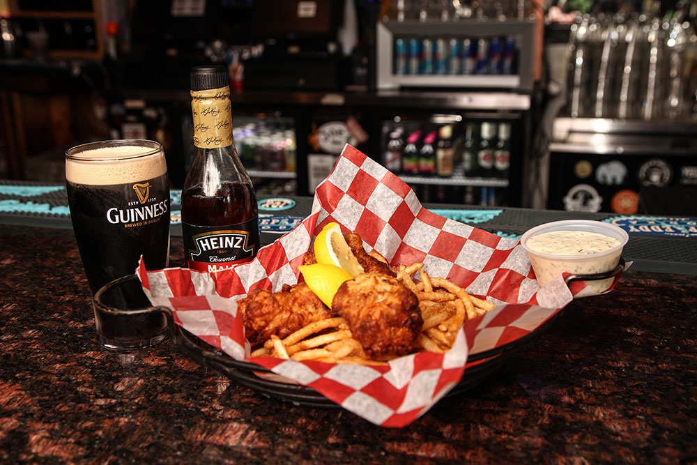 Guinness Battered Fish and Chips (Photo: Marc Rains)