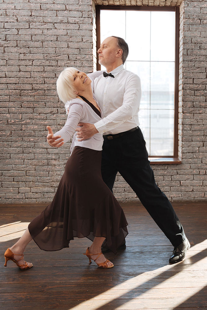 Whether the romance lasts the length of the song or a lifetime, dancing brings couples together.