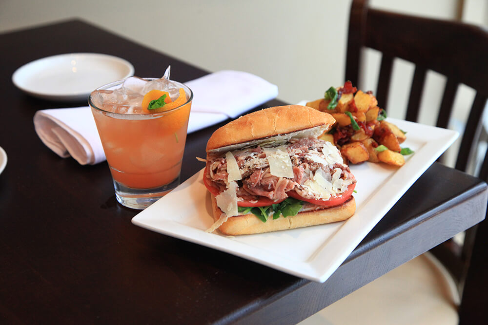 Truly Italian sandwiches are what you can expect at Tavolo, a cozy, well-lit, romantic spot in downtown Tulsa. (Photo: Marc Rains)