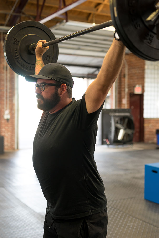 Jake Crandall, owner of Okie CrossFit, credits CrossFit as the workout routine that helped save his life. (Photo: Parker Slack)