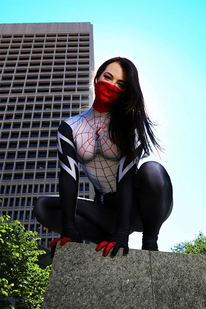 Courtney Paige Allen as Silk. (Photo: BeardedOkie Photography)