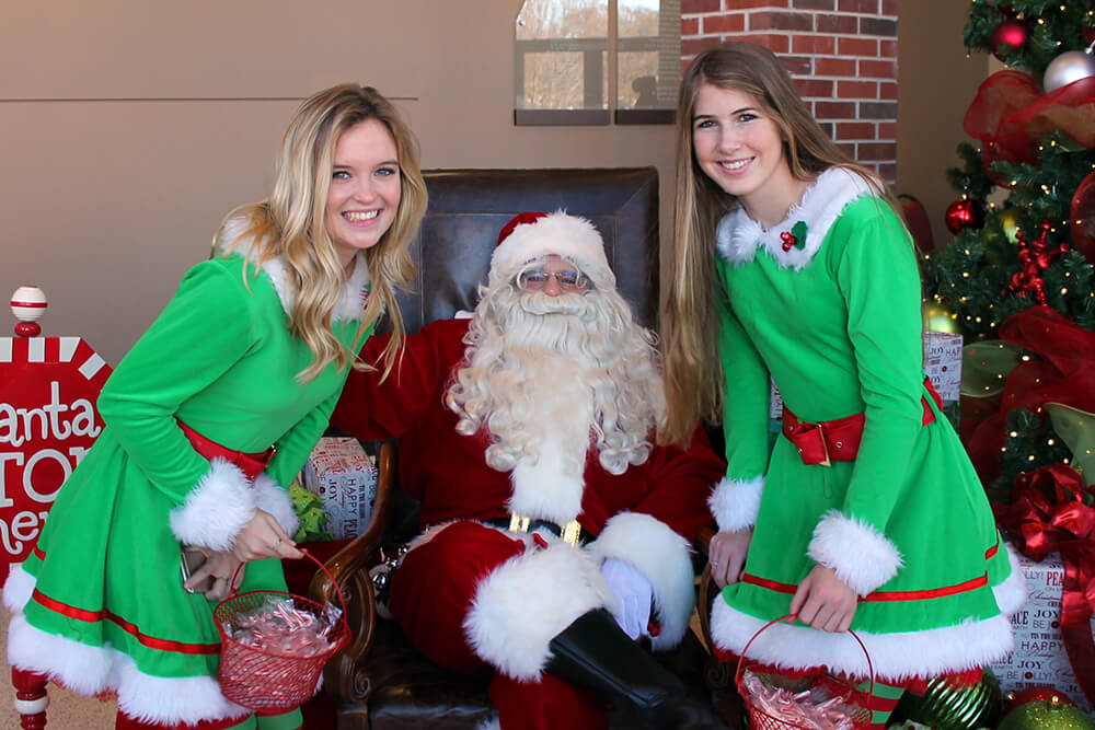 As a private school, Cascia Hall charges tuition but is very dedicated to providing students with financial assistance, which is how the Cascia Christmas Walk came about.