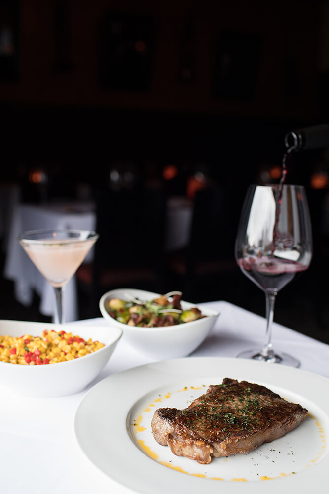 All of PRHYME's steaks and chops are hand selected and cut in-house. (Photo: Valerie Grant)